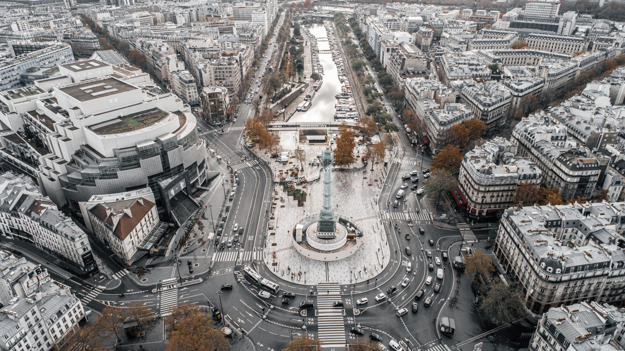 Photos Drone - Place de la Bastille-2