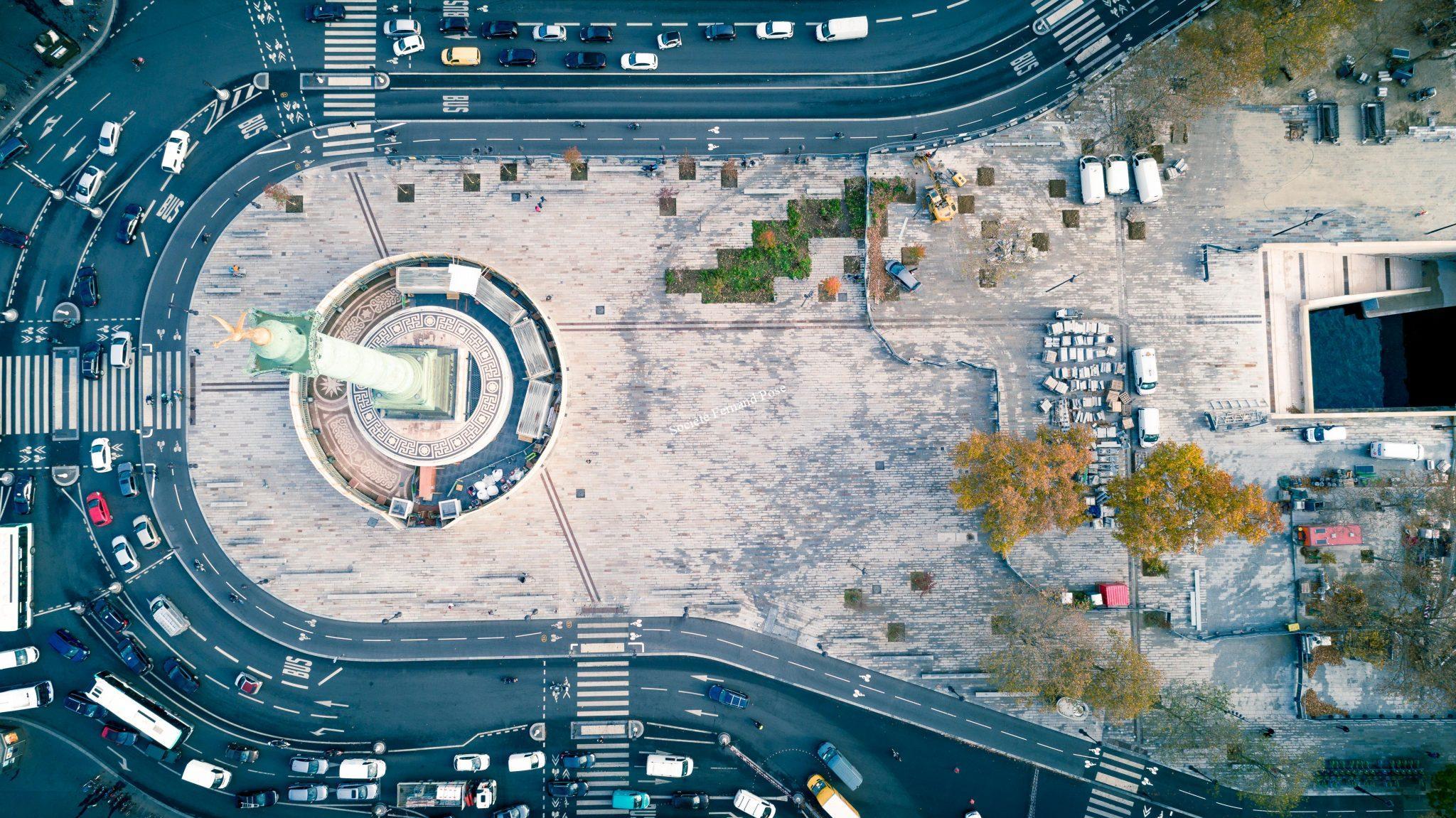 Photos Drone - Place de la Bastille-5
